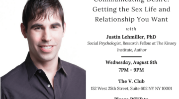 Join Me in NYC on August 8 For a Course on Getting the Sex Life and Relationship You Want